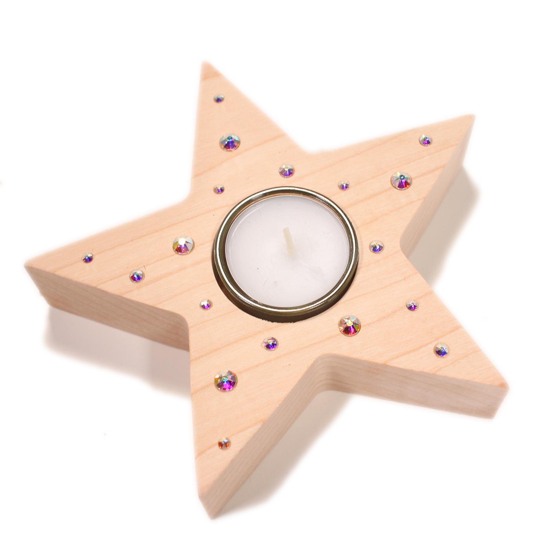 Tischleuchter (Prismen Swarovski Kristalle®)